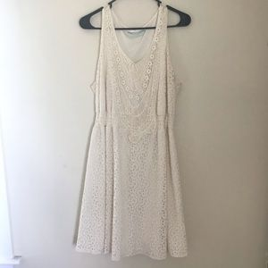 Off white Maurice's XL dress